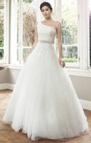 queeniewedding one shoulder wedding dresses u0026 gowns uk