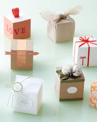wedding gift for guests 50 great wedding favors martha stewart weddings