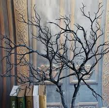 decorative tree branches artificial black white tree branches plastic coral artificial