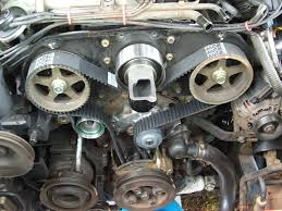 1997 toyota 4runner timing belt how do i set the timing on a 3 0 liter v 6 engine what position