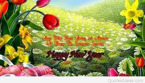Wallpaper With Flowers Have A Happy New Year 2016 Best Wishes And Wallpapers