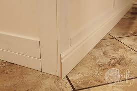 baseboards kitchen cabinets thrifty and chic diy projects and home decor