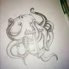 octopus artist sketch drawing on instagram
