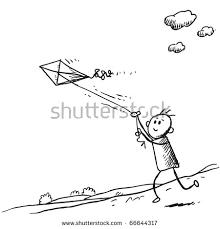 vector illustration drawing card funny cartoon stock vector