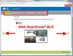 course instructions heartcode bls developed by american heart