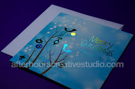 luxury foil blocked christmas cards buy online today