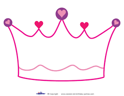 Crown Coloring Pages To Print Queen Crown Coloring Pagecrown Princess Stencil Free Coloring Sheets