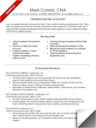 nursing assistant resume exles nursing assistant resume exles resume sle nursing assistant