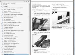 bobcat telescopic tool carrier operators and maintenance manuals