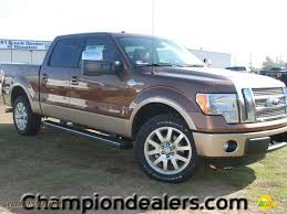 Ford F150 Truck 2012 - 2012 ford f150 king ranch supercrew in golden bronze metallic