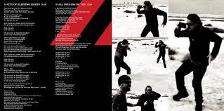 Lights And Camera Lyrics U2 U2013 How To Dismantle An Atomic Bomb Booklet Lyrics Genius Lyrics