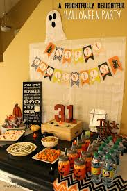 a frightfully delightful halloween party with festive halloween