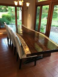 Slab Dining Room Table Monkeypod Tables Diamondtropicalhardwoods Com
