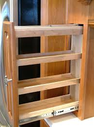 spice racks for kitchen cabinets spice rack cabinet with door cupboard organizers kitchen ideas
