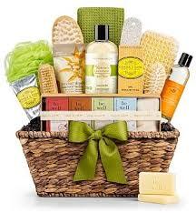 gift basket for women gifttree organic spa gift basket premium