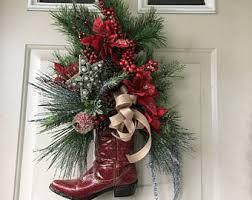 christmas cowboy etsy