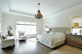 Tufted Headboard Bed Light Beige Tufted Headboard Transitional Bedroom Insidesign