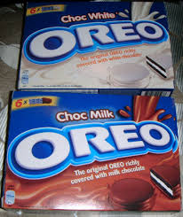 where can i buy chocolate covered oreos foodstuff finds dipped oreos milk and white chocolate asda