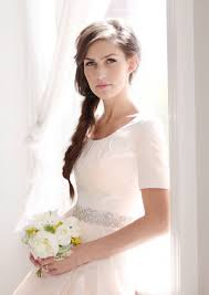 modest wedding dresses with 3 4 sleeves modest wedding dresses modest wedding dress barge modest