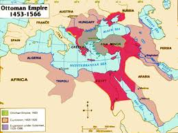 Beginning Of Ottoman Empire The Ottoman Empire Maps