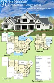 what do you need to build a house plan 290008iy luxurious 6 bed house plan with 3 levels of living