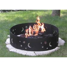 Propane Camping Fire Pit Cobraco Moon And Stars Camp Fire Ring 175256 Fire Pits U0026 Patio