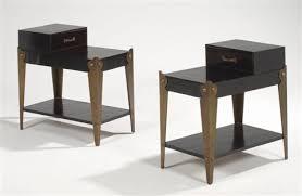 table bout de canape tables bout de canapé pair by eugene printz on artnet