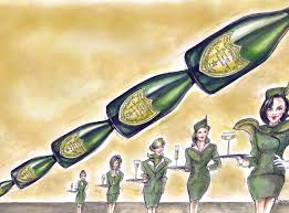 champagne celebration cartoon the rise of vintage champagne how to spend it