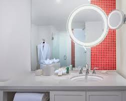 Partial Bathroom Definition Miami Beach Hotel Rooms Standard Guest Rooms Hilton Cabana