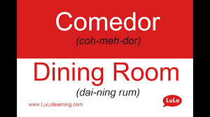 how do u say dining room in spanish decor provisions dining