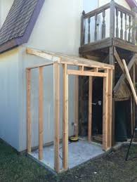Plans To Build A Wooden Storage Shed by Lean To Shed Plans Lean To Garden Tool Shed Shown Is Easy To