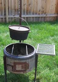 Washing Machine Firepit Cookerwars Creative Ways To Use A Washing Machine Tub As A