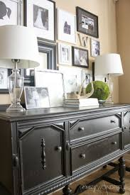 living room buffet hutch shallow depth credenza narrow sideboard