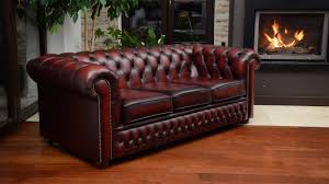 Chesterfield Tufted Sofa by Interior Modern Living Room Design With Genuine Leather Sofa Also