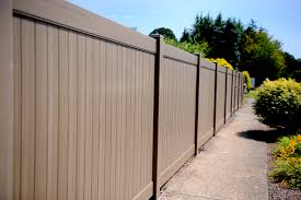 halloween fences color your privacy fence happy from simulated stone to redwood