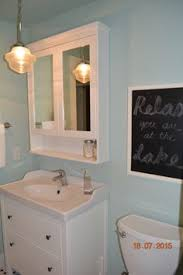 Ikea Bathroom Medicine Cabinet - bathroom renovation how to install an ikea hemnes sink cabinet