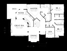 mascord house plan 1222 the fayette