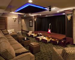 custom home movie theater design photos gallery cinema ideas performance home theater with drawers open