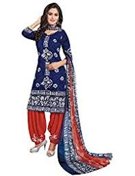 amazon in synthetic dress material ethnic wear clothing