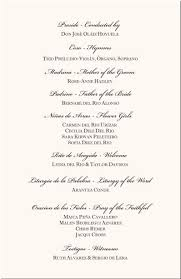 Example Of Wedding Program The 12 Best Images About Projects To Try On Pinterest