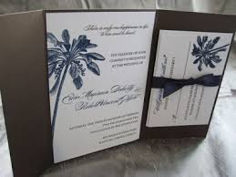 palm tree wedding invitations custom palm tree wedding invitations blush paperie