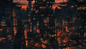 23 6x42 inch sale anime cityscape wallpaper movie the human