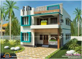 Simple Home Plans by Flat Roof Homes Designs Flat Roof Villa Exterior In 2400 Sq Feet