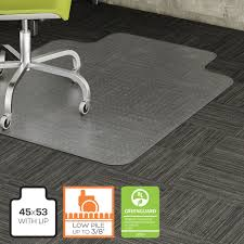 Greenguard Laminate Flooring Product Llr69158 Lorell Wide Lip Low Pile Chairmat Office Advantage