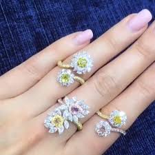 colored diamonds rings images 1734 best fancy colored diamonds images rings jpg