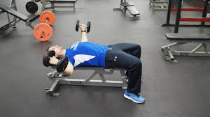 Flat Bench Dumbell Flat Bench Dumbbell Fly Exercise Technique U0026 Definition