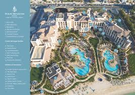 Where Is Dubai Located On The World Map by Dubai Luxury Resort Map Four Seasons Resort Jumeirah Beach
