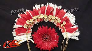 indian wedding flower garland diy gajra veni flower garland for indian wedding how to make