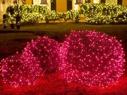 outdoor christmas light balls christmas yard decorations hgtv