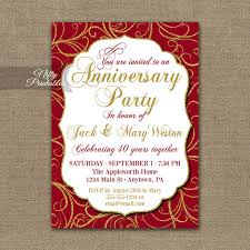 designs 25th wedding anniversary invitation cards templates with